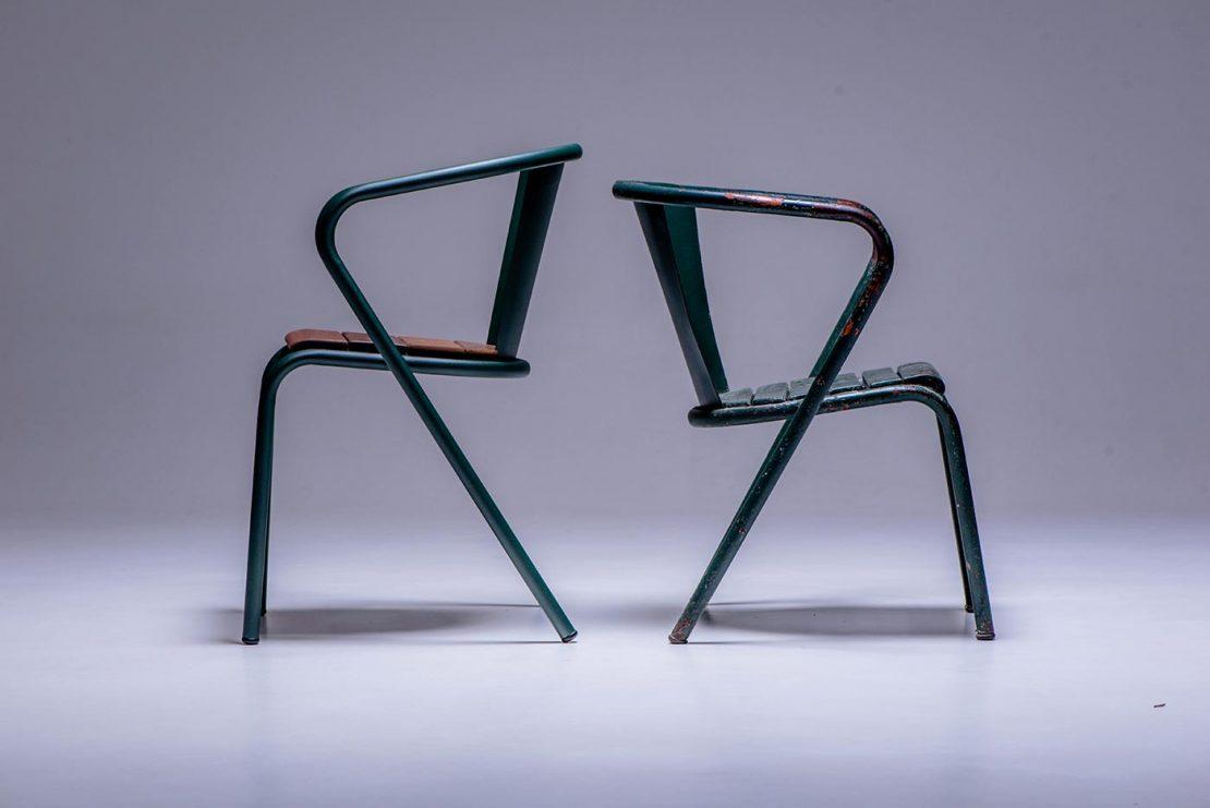 Une chaise moderne avec 60 ans d'histoire
